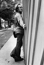 Rufus (born in 1942), French actor and humorist. Paris, 1971. Photograph by André Perlstein (born in 1942). © André Perlstein / Roger-Viollet