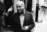 John Schlesinger (1926-2003), réalisateur, acteur, scénariste et producteur de cinéma britannique. Photographie d'André Perlstein (né en 1942). France, 1971. © André Perlstein / Roger-Viollet