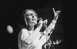 Nana Mouskouri (née en 1934), chanteuse grecque. Paris, Olympia 1982. © Studio Lipnitzki / Roger-Viollet