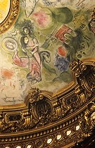 Roger-Viollet | 210397 | Chagall - Dome of the Paris Opera | © Jean-Pierre Couderc / Roger-Viollet