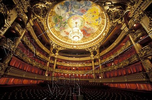 Roger-Viollet | 635221 | Interior of the Opéra Garnier. Paris (IXth arrondissement), February 1996. | © Colette Masson / Roger-Viollet