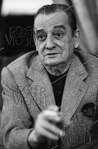 Roger-Viollet | 1376263 | Marcel Pagnol (1895-1974), French writer, playwright, filmmaker and producer. Paris, 8 March 1969. Photograph by André Perlstein (born in 1942). | © André Perlstein / Roger-Viollet