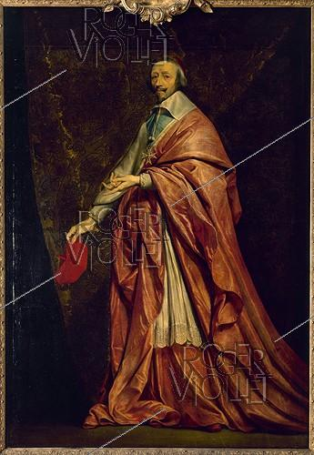 Roger-Viollet | 338771 | P. OF CHAMPAIGNE - THE CARDINAL OF RICHELIEU | © Roger-Viollet / Roger-Viollet