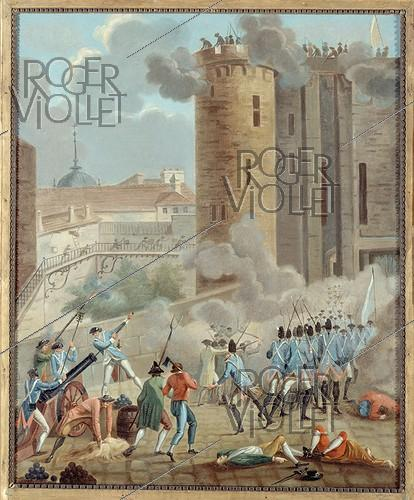 Roger-Viollet | 88375 | Storming of the Bastille, on July 14, 1789 | © Musée Carnavalet / Roger-Viollet