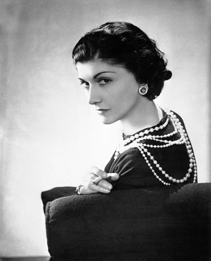 Coco Chanel (1883-1971 by Boris Lipnitzki (1887-1971)