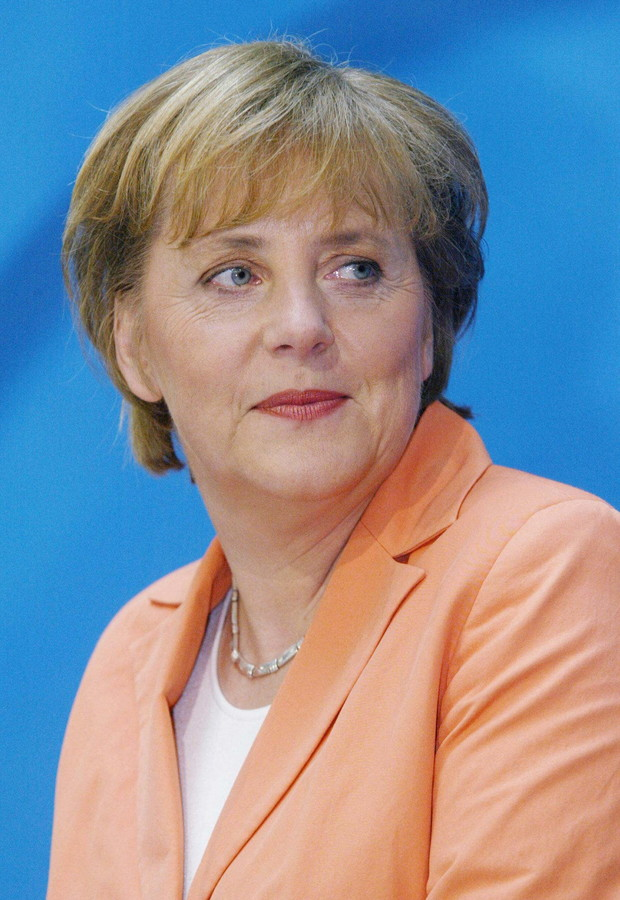 Angela Merkel (born 1954) Federal Chancellor of Germany since 22 November 2005.