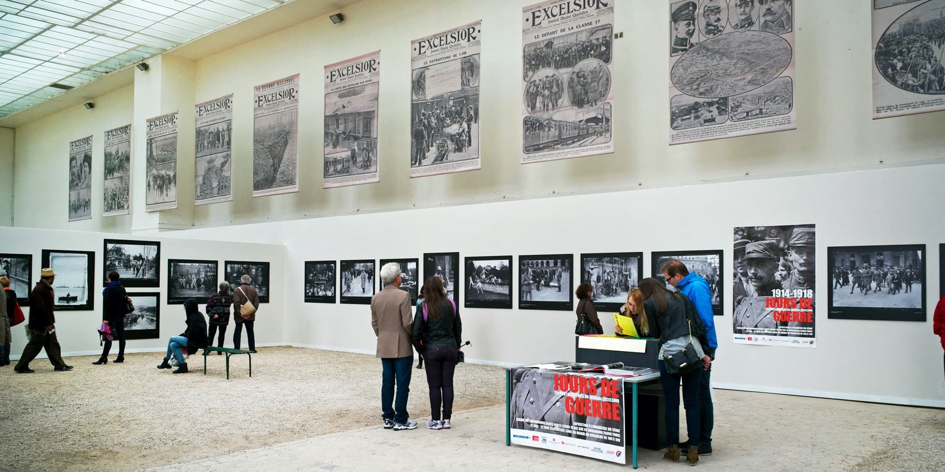 """1914-1918 - Days of war"" at Orangerie Museum, Paris © Denis Fruit / Roger-Viollet"