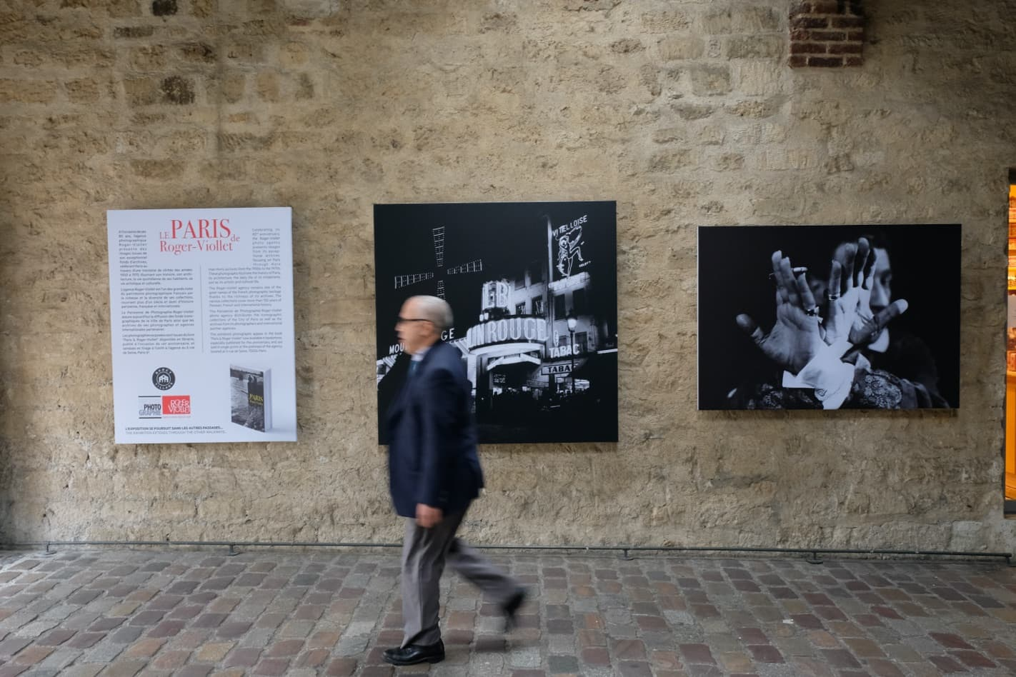 """Paris by Roger-Viollet"" at Bercy Village, Paris © Dominique Lecourt / Roger-Viollet"