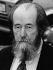 Alexandre Issaïevitch Soljenitsyne (1918-2008), romancier et dissident russe. 18 octobre 1993. © Ullstein Bild / Roger-Viollet