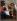 """Ecole de Jacopo Vignali (1592-1664). """"Le Christ servi par deux anges"""". Huile sur toile. Ajaccio, Musée Fesch.    © Roger-Viollet"""