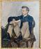 Le peintre français Pierre Auguste Renoir (1841-1919), en 1867, par Jean-Frédéric Bazille (1841-1870). Paris, Musée d'Orsay.      © Roger-Viollet