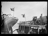 """Guerre d'Espagne (1936-1939). """"La Retirada"""". Marins français désarmant un garde-côte espagnol dans le port de Port-Vendres (Pyrénées-Orientales), 29 janvier 1939. Photographie Excelsior. © Excelsior - L'Equipe / Roger-Viollet"""