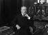 Raymond Poincaré (1860-1934), président de la République française. 1913. © Maurice-Louis Branger/Roger-Viollet