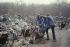 Travailleurs immigrés à l'usine Remetal. Saint-Arnoult-en-Yvelines (Yvelines), 1983. © Georges Azenstarck / Roger-Viollet