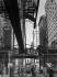 Métro aérien. Chicago (Illinois, Etats-Unis), vers 1937. © Laure Albin Guillot / Roger-Viollet