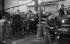 Imprimerie russe. Paris, 1927.      © Boris Lipnitzki / Roger-Viollet