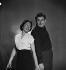 Monique Delaroche et Jacques Fabbri. Septembre 1950. © Studio Lipnitzki/Roger-Viollet