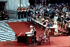 La reine Elisabeth II (née en 1926) et son époux, le prince Philip (né en 1921), duc d'Edimbourg, lors de la cérémonie pour le 25ème anniversaire de son couronnement (jubilé d'argent). Londres (Angleterre), cathédrale Saint-Paul, 1977.  © TopFoto/Roger-Viollet