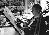 Karlheinz Stockhausen (1928-2007), chef d'orchestre et compositeur allemand, 1985.  © Clive Barda/TopFoto/Roger-Viollet