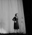 Edith Piaf (1915-1963), chanteuse française. Paris, Olympia, septembre 1962. © Studio Lipnitzki / Roger-Viollet