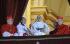 Jorge Mario Bergoglio (né en 1936), élu pape sous le nom de François, sur le balcon de la basilique Saint Pierre. Vatican (Italie), place Saint Pierre, 13 mars 2013.  © Stefano Carofei / TopFoto / Roger-Viollet