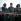 Anniversaire de la révolution cubaine. Ernesto Che Guevara (1928-1967), Raoul Castro (né en 1931) et sa femme. Santiago de Cuba, 26 juillet 1964.  © Ullstein Bild/Roger-Viollet