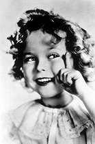 Shirley Temple (1928-2014), actrice américaine. © TopFoto/Roger-Viollet