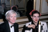 Andy Warhol (1928-1987), artiste et cinéaste américain, et Paloma Picasso (née en 1949), créatrice de mode franco-espagnole. © Jack Nisberg / Roger-Viollet