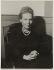 """Elsa Triolet (1896-1970), écrivain français, lors de l'obtention de son Prix Goncourt pour """"Le premier accroc coûte 200 francs"""". Paris, 1945.   © Collection Harlingue / Roger-Viollet"""