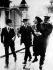 Emmeline Pankhurst (1858-1928), suffragette britannique, arrêtée pendant une manifestation. 2 juin 1914. © Ullstein Bild / Roger-Viollet