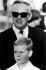 Le prince Rainier III de Monaco (1923-2005) et son fils, le prince Albert (né en 1958). 1967. © Ullstein Bild / Roger-Viollet