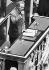Maurice Druon (1918-2009), écrivain et homme politique français. Paris, Assemblée nationale, 23 mai 1973. © Jean-Pierre Couderc/Roger-Viollet