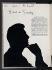 """""""Profils et caractères. Etudes photographiques et graphologiques des grands couturiers de Paris : Hubert de Givenchy"""", Vogue français, février 1953, p. 8. Galliera, musée de la Mode de la Ville de Paris. © Galliera / Roger-Viollet"""