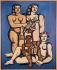"Fernand Léger (1881-1955). ""Les trois soeurs"", 1952. Staatsgalerie, Stuttgart (Allemagne). © Alinari/Roger-Viollet"