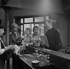 """La Belle Américaine"", film de Robert Dhéry. Alfred Adam, Jacques Fabbri, Colette Brosset, Robert Dhéry et Jacques Legras. France, 26 juin 1961.  © Alain Adler / Roger-Viollet"