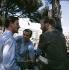 Graham Hill (1940-1971) et Pedro Rodriguez (1939-1975), pilotes de course. Course automobile.      © Roger-Viollet