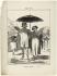 """Honoré Daumier (1808-1879).""""Paris l'été - Tenue de canicule (pl.3)"""". Lithographie en noir. Paris, musée Carnavalet.  © Musée Carnavalet/Roger-Viollet"""