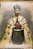 Le tsar Nicolas II (1868-1918) en costume de sacre.    © Roger-Viollet
