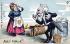 Adieu ! Mimile !!! Caricature sur Emile Loubet (1838-1929), homme d'Etat français. Carte postale humoristique. © Roger-Viollet