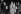 Pierre Bérégovoy (1925-1993) et Gaston Defferre (1910-1986), hommes politiques français. © Jacques Cuinières / Roger-Viollet