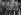 Première réunion du Conseil de l'Europe. A gauche : Edouard Herriot, président de la session. A droite : Robert Schuman et Ernest Bevin, secrétaire d'Etat anglais aux affaires étrangères. Strasbourg (Bas-Rhin), août 1949. © Roger-Viollet