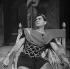 """""""Britannicus"""" de Racine. Robert Hirsch. Paris, Comédie-Française, janvier 1961. © Studio Lipnitzki/Roger-Viollet"""