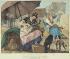"""John-James Chalon (1778-1854). """"Les tondeuses de chiens, 1820"""". Lithographie en couleurs. Paris, musée Carnavalet.   © Musée Carnavalet/Roger-Viollet"""