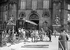 Arrivée du wagon où fut signé l'armistice, exposé dans la cour des Invalides de 1921 à 1927. Paris (VIIème arr.), 28 avril 1921. © Excelsior - L'Equipe / Roger-Viollet