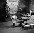 """""""Flora"""", pièce mise en scène par Jules Dassin. Jean-Pierre Aumont et Melina Mercouri. Paris, théâtre des Variétés, janvier 1962. © Studio Lipnitzki / Roger-Viollet"""