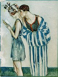 """Lucien Mauzan (1883-1952). """"Couple à la mer"""". © Roger-Viollet"""