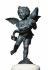 "Andrea del Verrocchio (1435-1488). ""Angelot et dauphin"". Sculpture en bronze, vers 1470. Florence (Italie), palazzo Vecchio. © Iberfoto / Roger-Viollet"