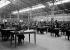 Epreuves écrites du baccalauréat, au Palais des expositions de la porte de Versailles. Paris, 1932. © Albert Harlingue/Roger-Viollet