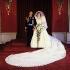 Mariage du prince Charles (né en 1948) et de Lady Diana Spencer (1961-1997). Photographie officielle. Londres (Angleterre), palais de Buckingham, 29 juillet 1981. © PA Archive/Roger-Viollet
