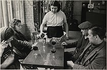 Regular customers of a bar, 25 rue de Charonne. Paris (XIth arrondissement), 1971. Photograph by Léon Claude Vénézia (1941-2013). © Léon Claude Vénézia / Roger-Viollet